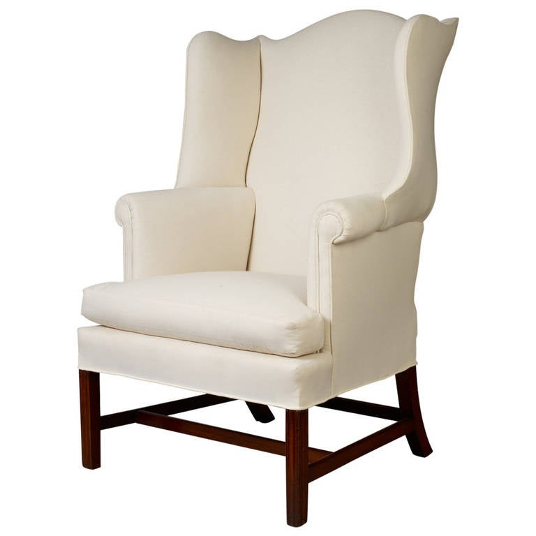 Chippendale Wingback Chair Circa 1780 For Sale At 1stdibs