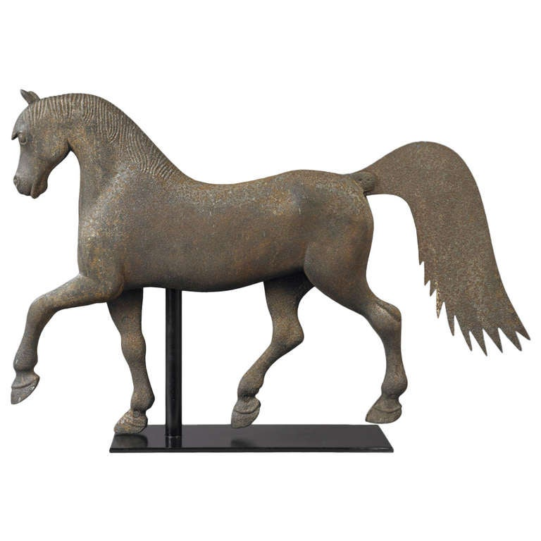 Horse Weathervane At 1stdibs