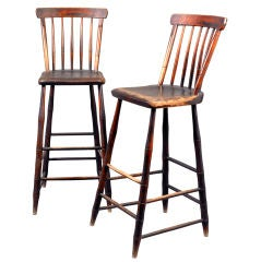 Pair of Windsor Weaver Chairs