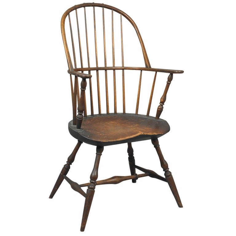 Windsor Bow Back Armchair At 1stdibs