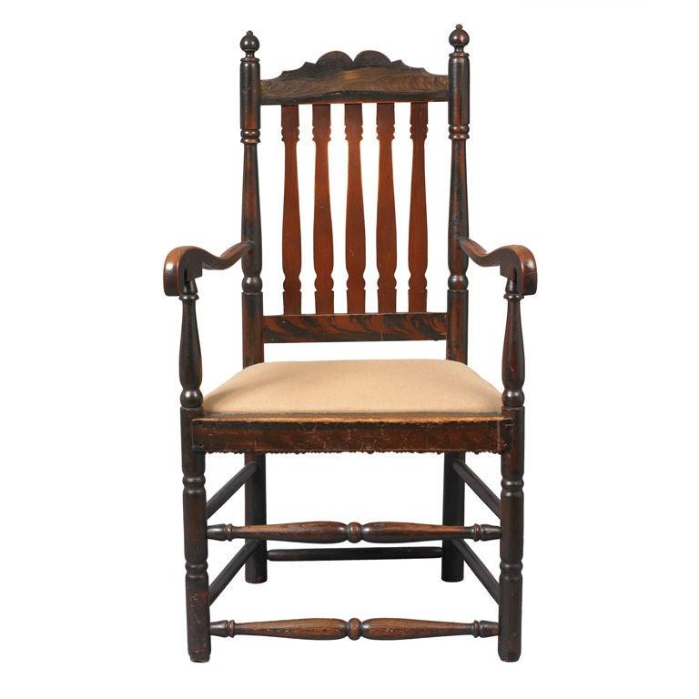 Queen Anne armchair, 1730–50