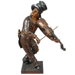Figure of a Violin Player