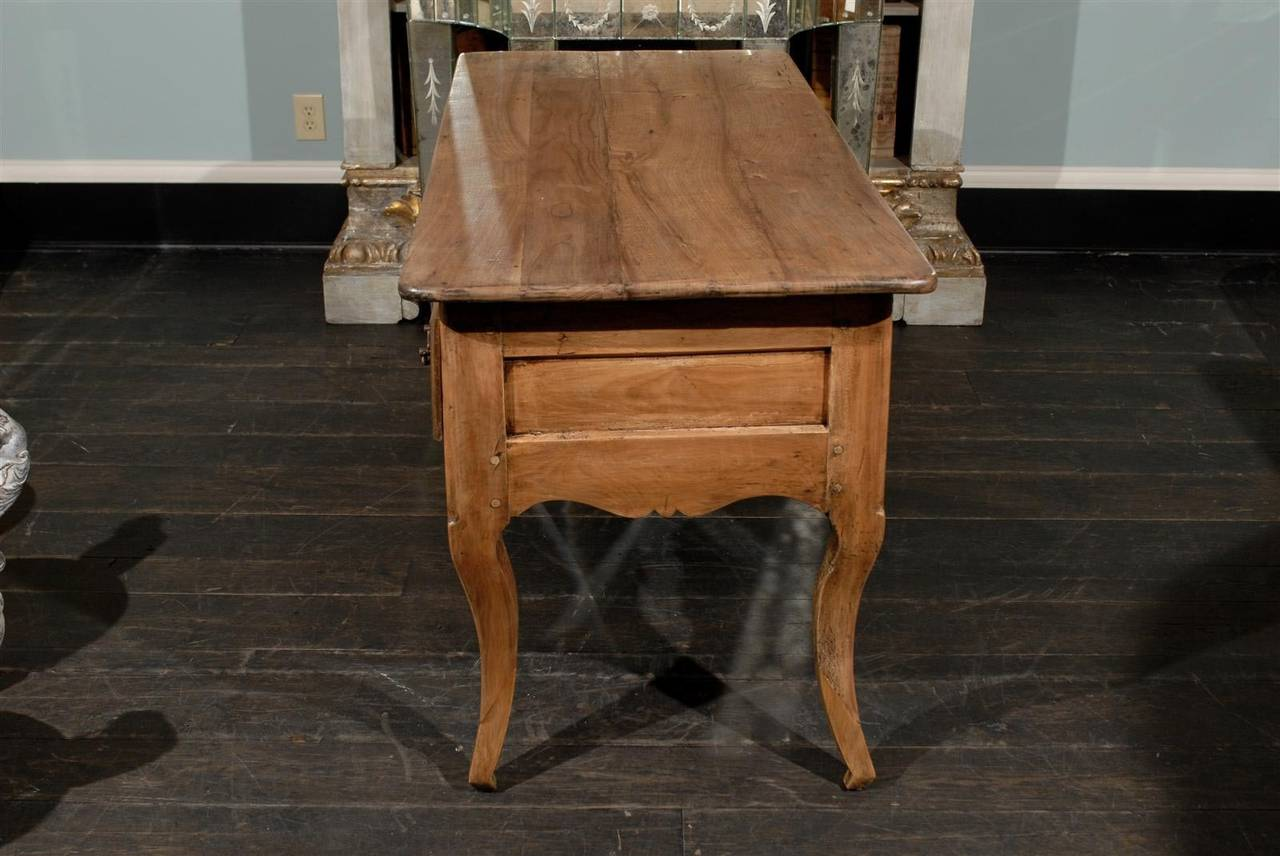 Amazing photo of French Small Size Three Drawer Wooden Desk For Sale at 1stdibs with #724929 color and 1280x856 pixels