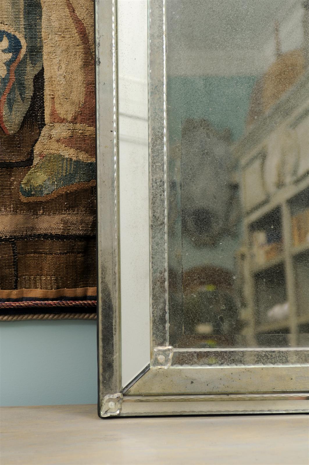 Contemporary Caroline Venetian Style Mirror For Sale