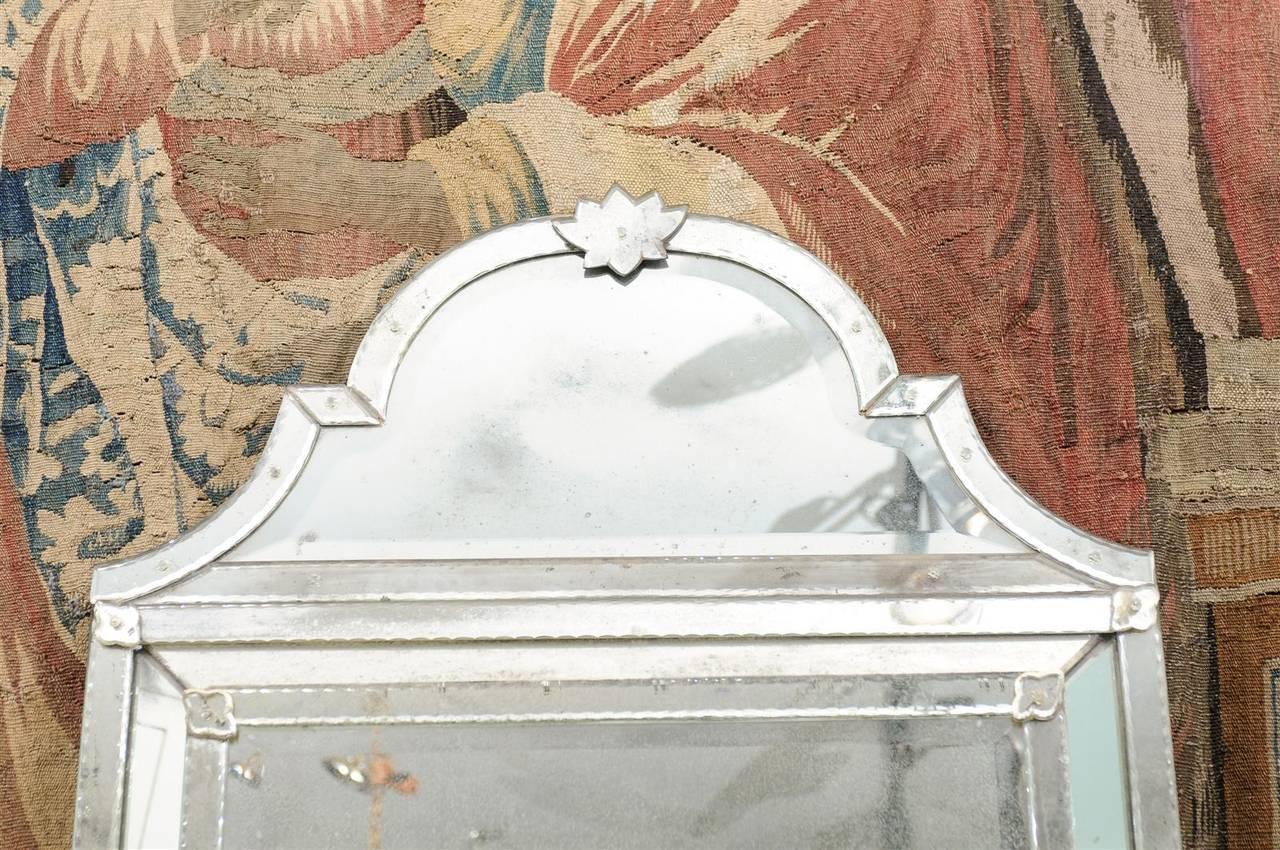 Glass Caroline Venetian Style Mirror For Sale