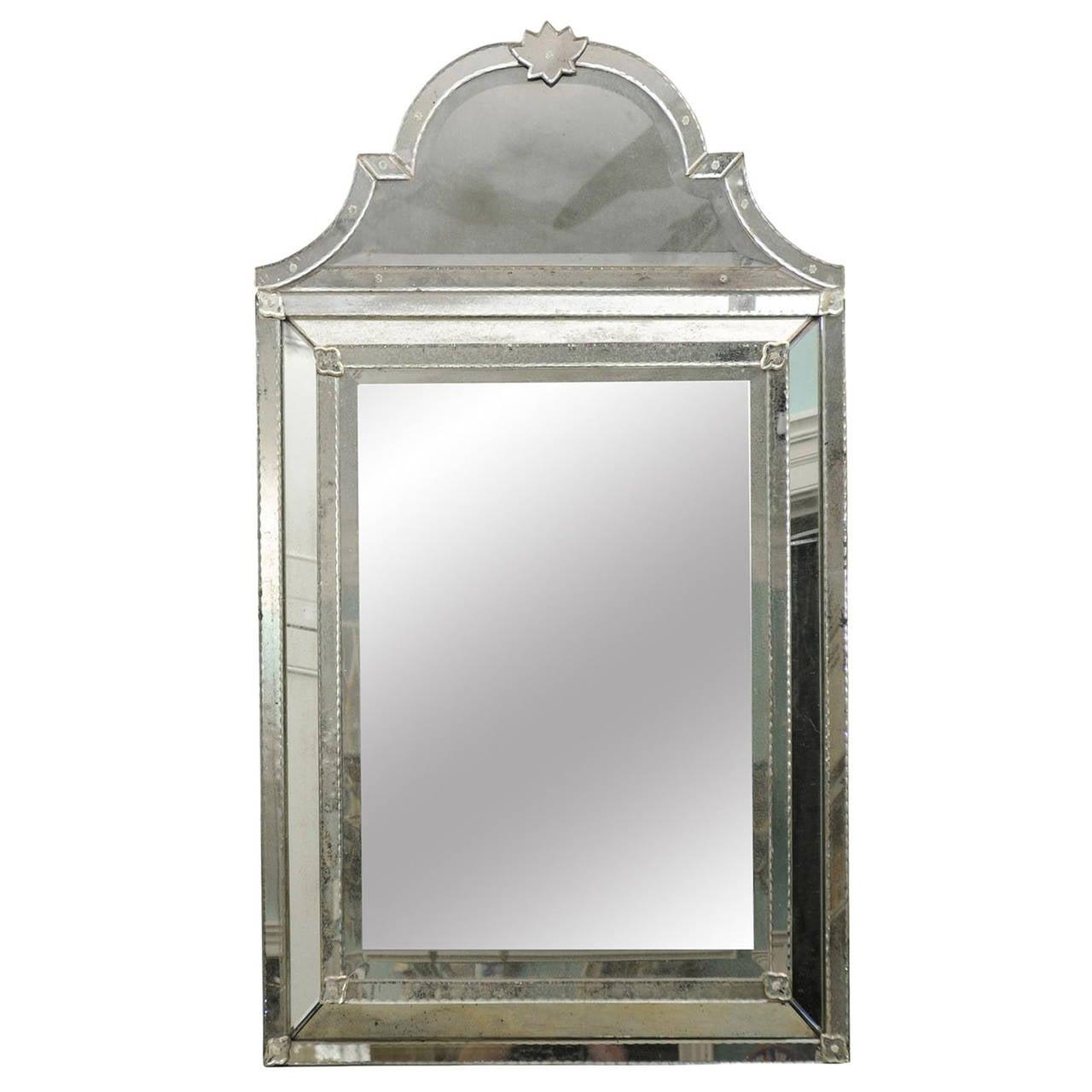 Caroline Venetian Style Mirror at 1stdibs