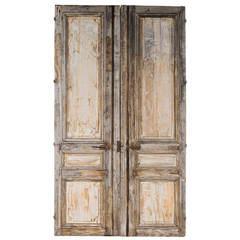 Pair of 19th Century Wooden Doors