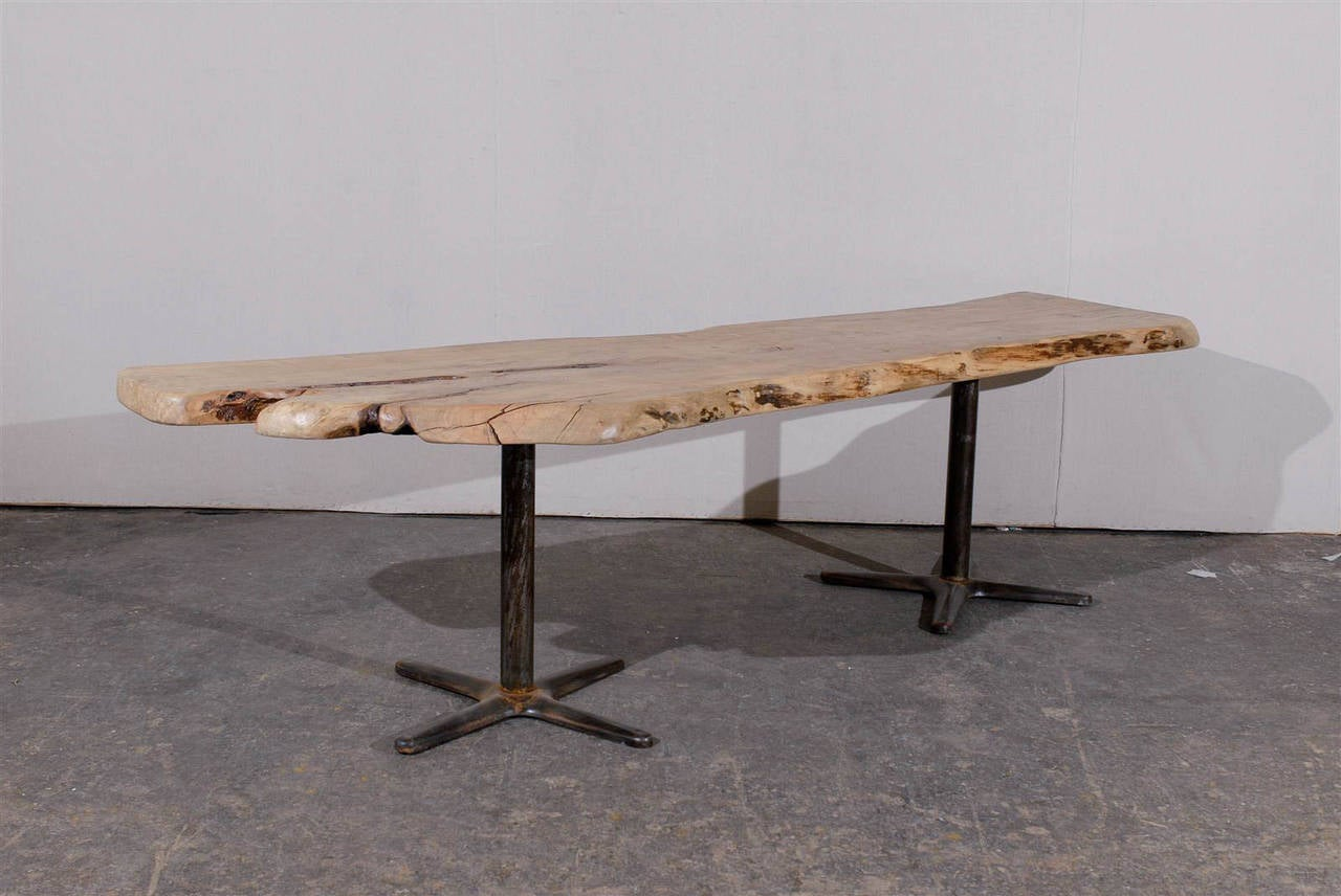Large Size Live Edge Red Maple Dining Table at 1stdibs : abp111920143247Custom2l from www.1stdibs.com size 1280 x 856 jpeg 103kB