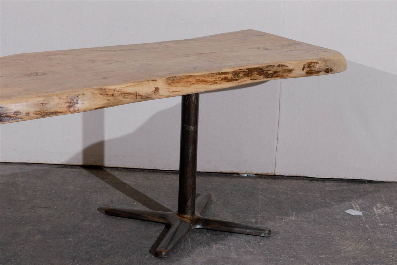 Large Size Live Edge Red Maple Dining Table At 1stdibs