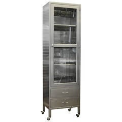 Classic Stainless Steel Display Cabinet