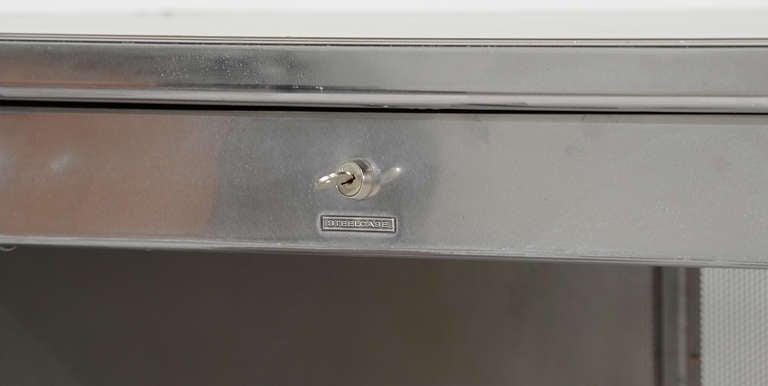 Vintage Steelcase Double Bank Tanker Desk image 9