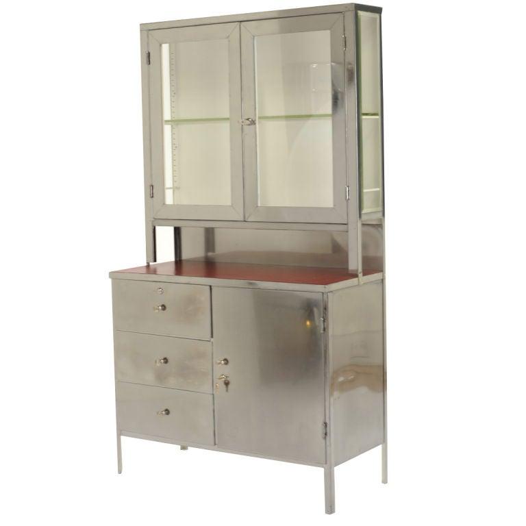 vintage steel hoosier cabinet at 1stdibs