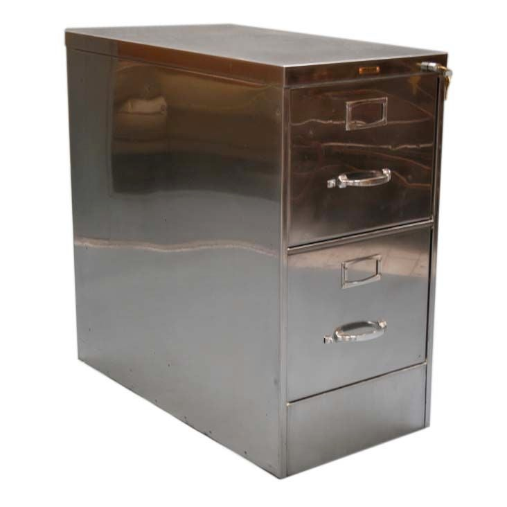Classic two drawer file cabinet by steelcase at 1stdibs