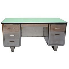 Classic Double Bank Steel Tanker Desk