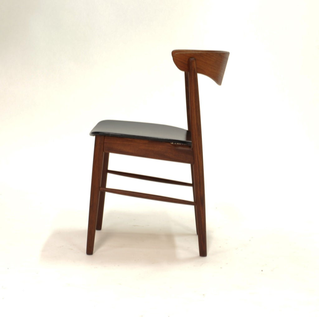 set of 4 modern dining chairs at 1stdibs