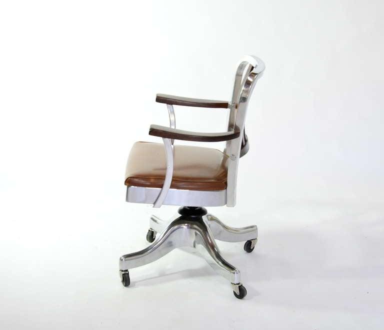 shaw walker desk chair at 1stdibs