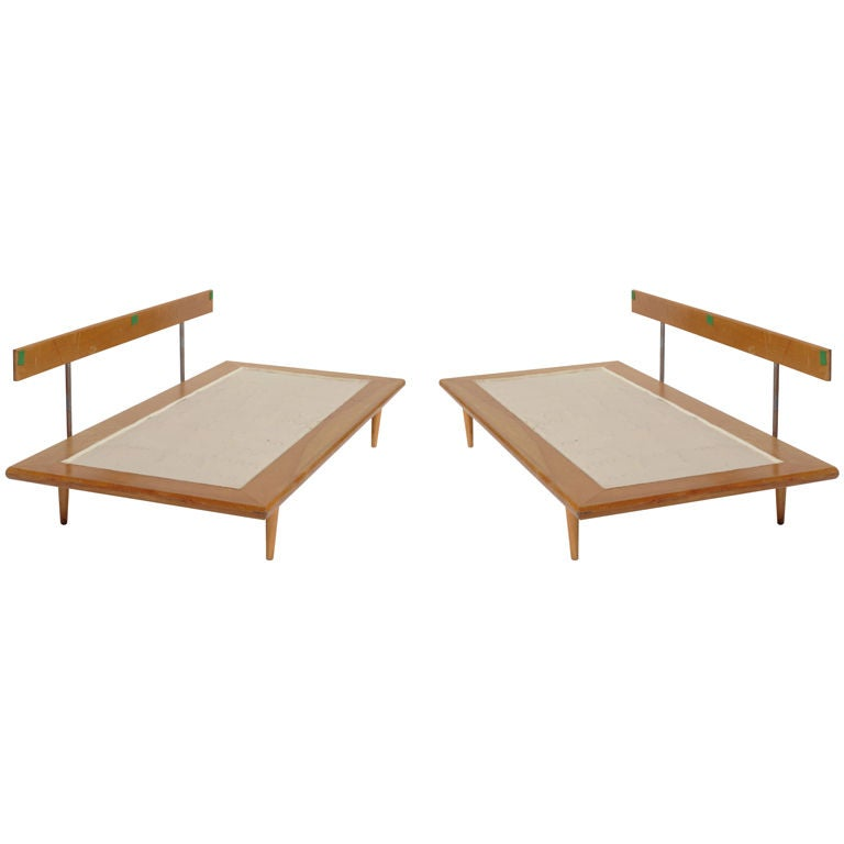 a pair of george nelson daybed frames at 1stdibs