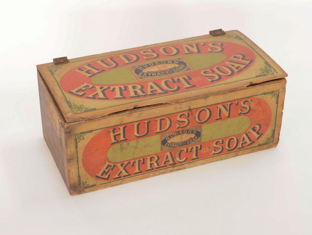 old wood soap box at 1stdibs