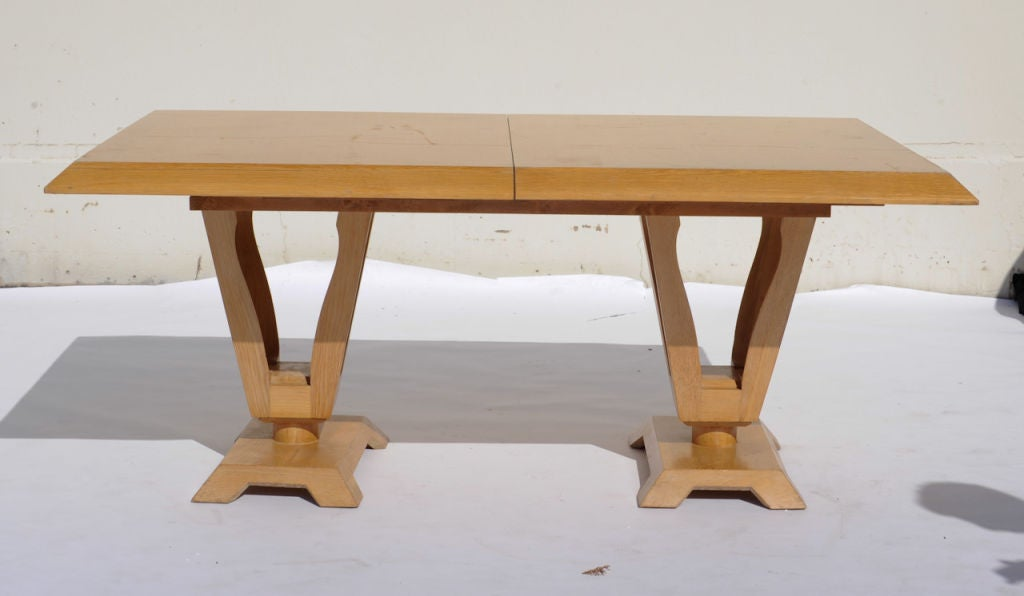johan tapp double pedestal dining table at 1stdibs