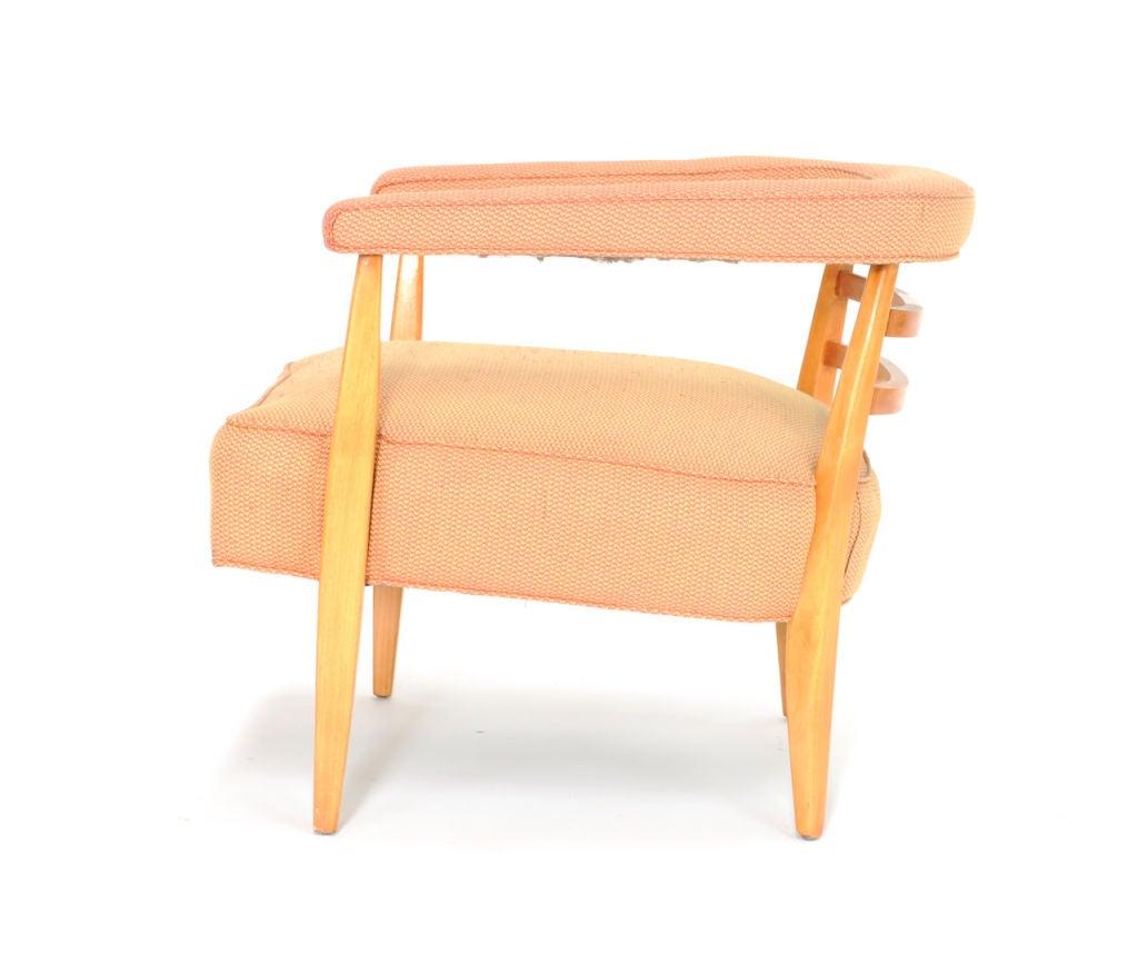 Pair Of Burt England For Johnson Furniture Company Club Chair At 1stdibs