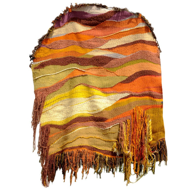 Yvonne Porcella Hand Woven Tapestry at 1stdibs
