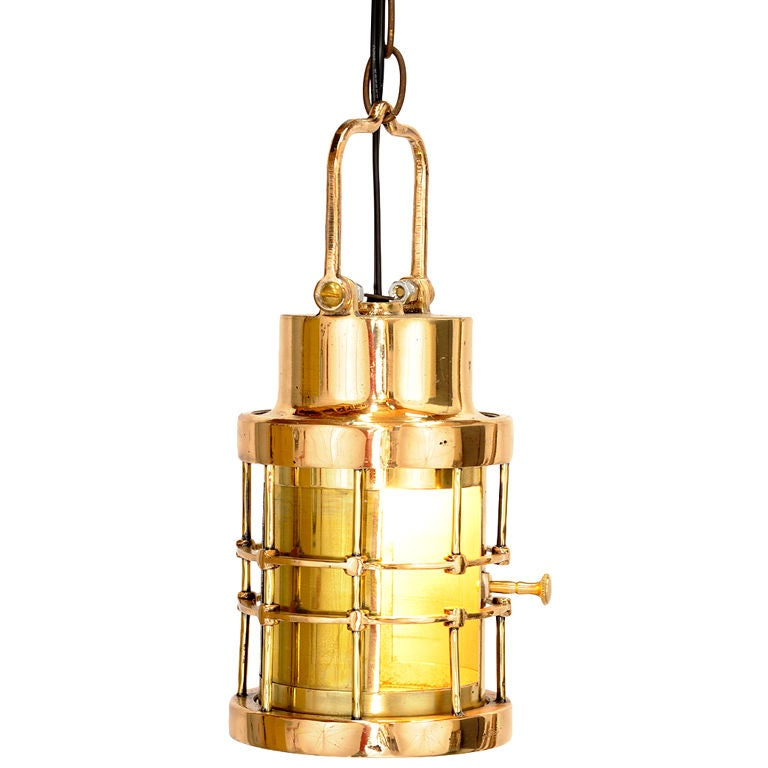 Brass And Copper Pendant Lanterns At 1stdibs