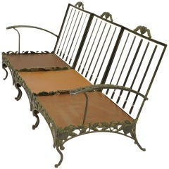 Iron Patio Sofa