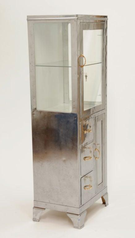 art deco medical cabinet at 1stdibs. Black Bedroom Furniture Sets. Home Design Ideas