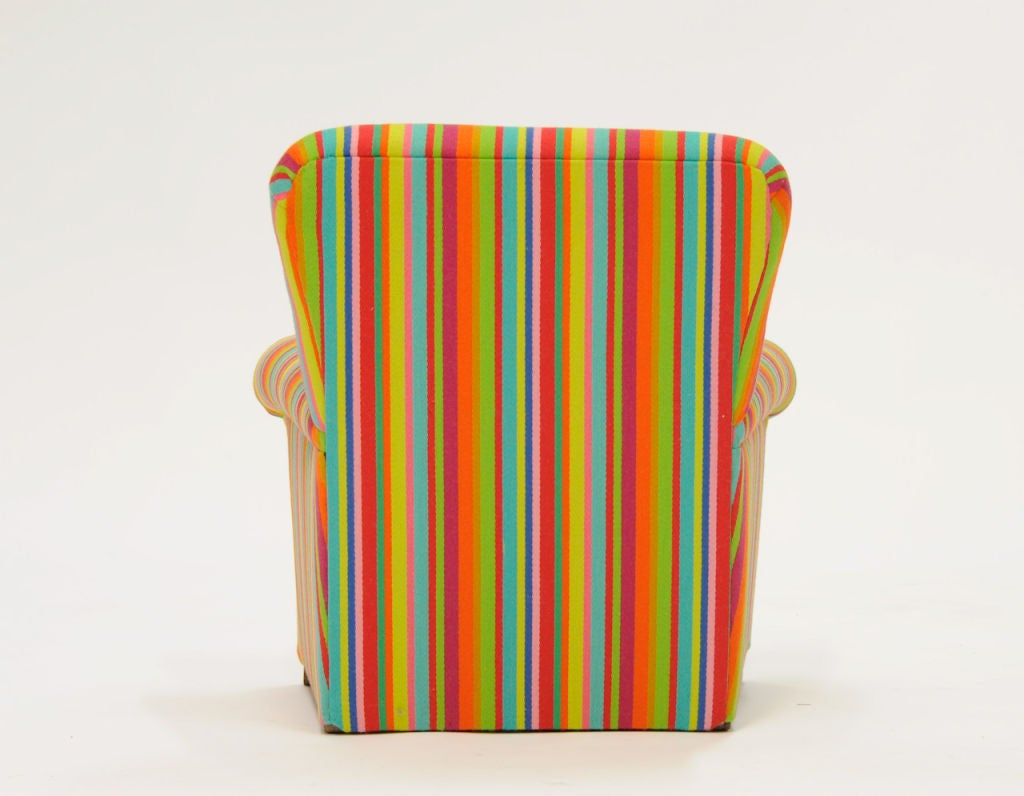 Child 39 s club chair with alexander girand fabric at 1stdibs for Children s furnishing fabrics