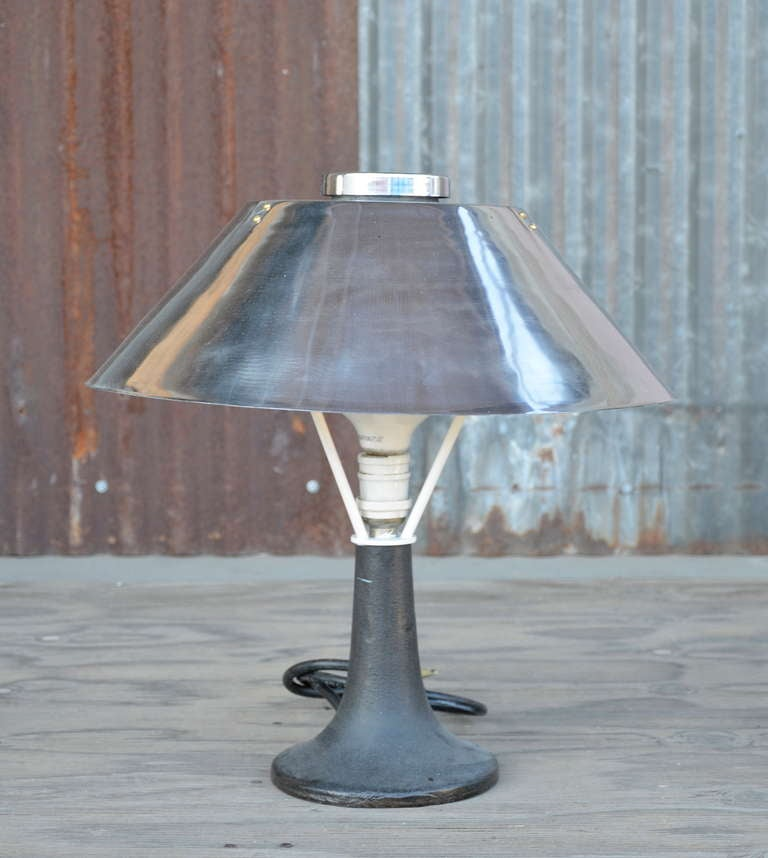 nautical table lamp for sale at 1stdibs. Black Bedroom Furniture Sets. Home Design Ideas