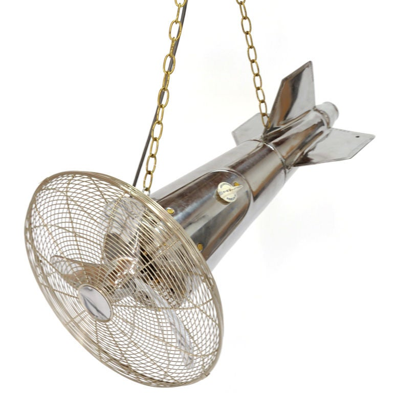 Dual Speed Flying Ceiling Fan At 1stdibs