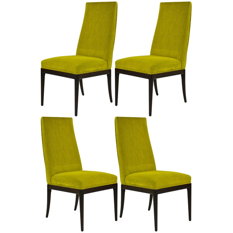 set of 4 baker furniture dining chairs at 1stdibs