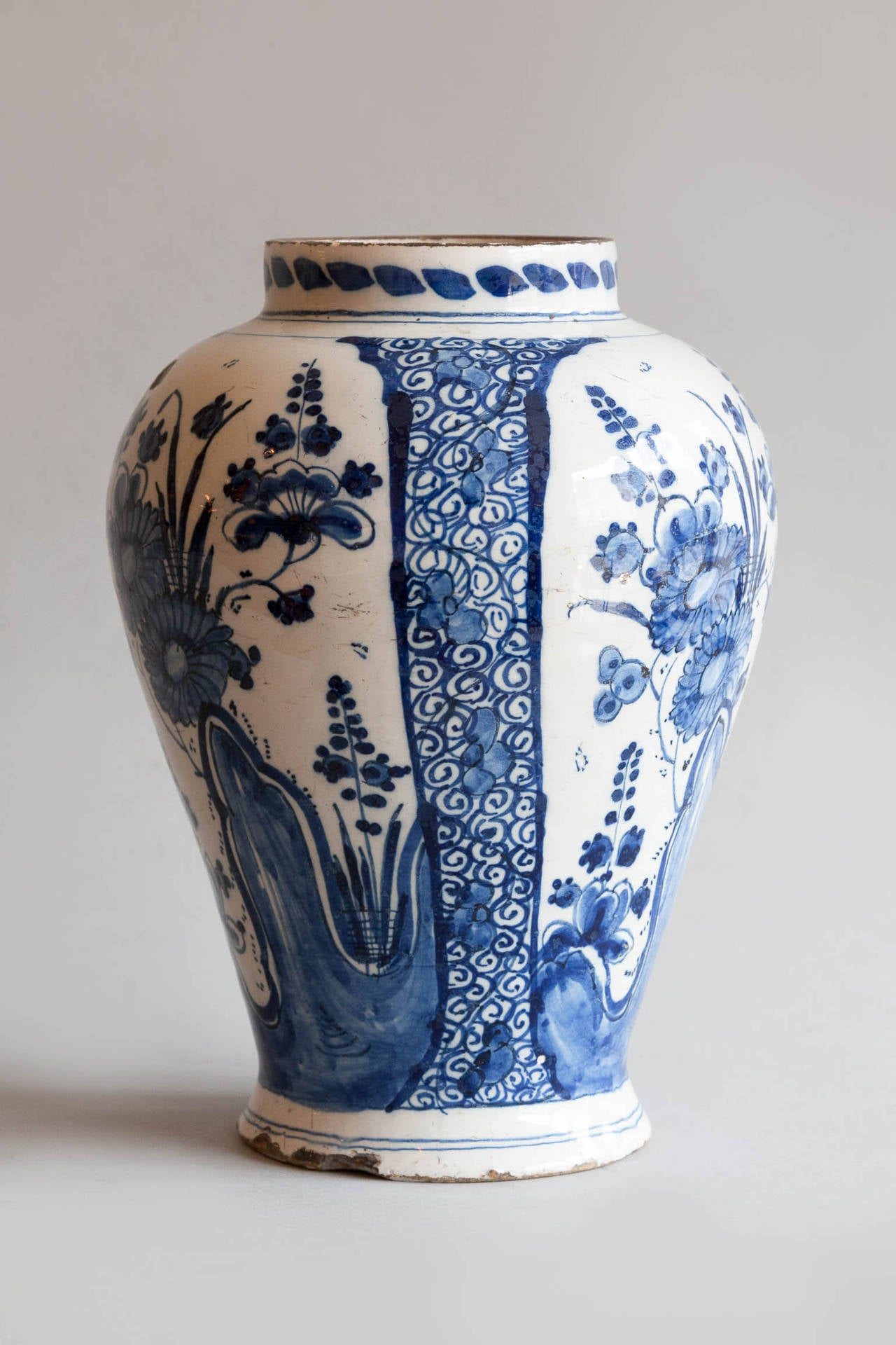 18th century faence baluster delft vase at 1stdibs louis xvi 18th century faence baluster delft vase for sale reviewsmspy