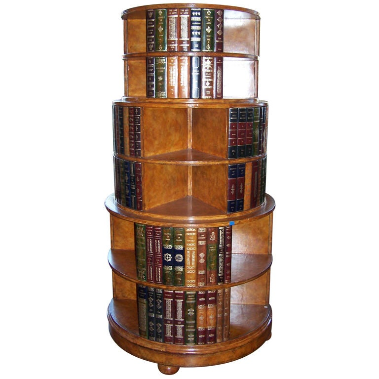 Large Maitland Smith Bookcase At 1stdibs