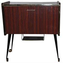Art Moderne Rosewood Bar/Cabinet