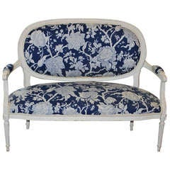 Louis XVI Style French Settee