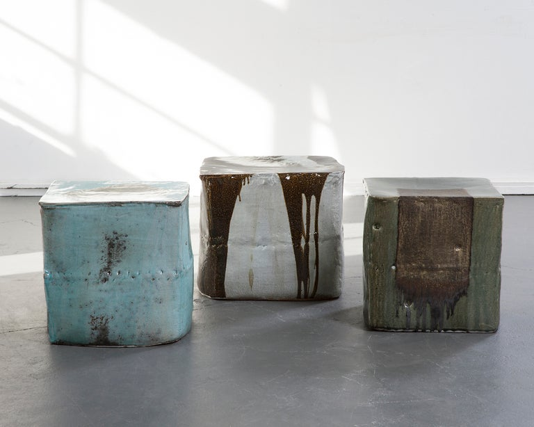 Ceramic stool by Hun-Chung Lee For Sale 1