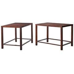 Pair of Side Tables by Geraldo de Barros