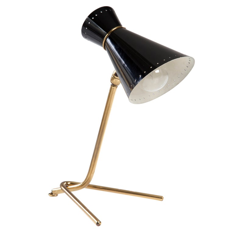 Desk Lamp with Cone Shade