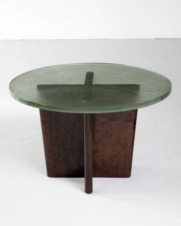 Coffee Table In Birch At 1stdibs