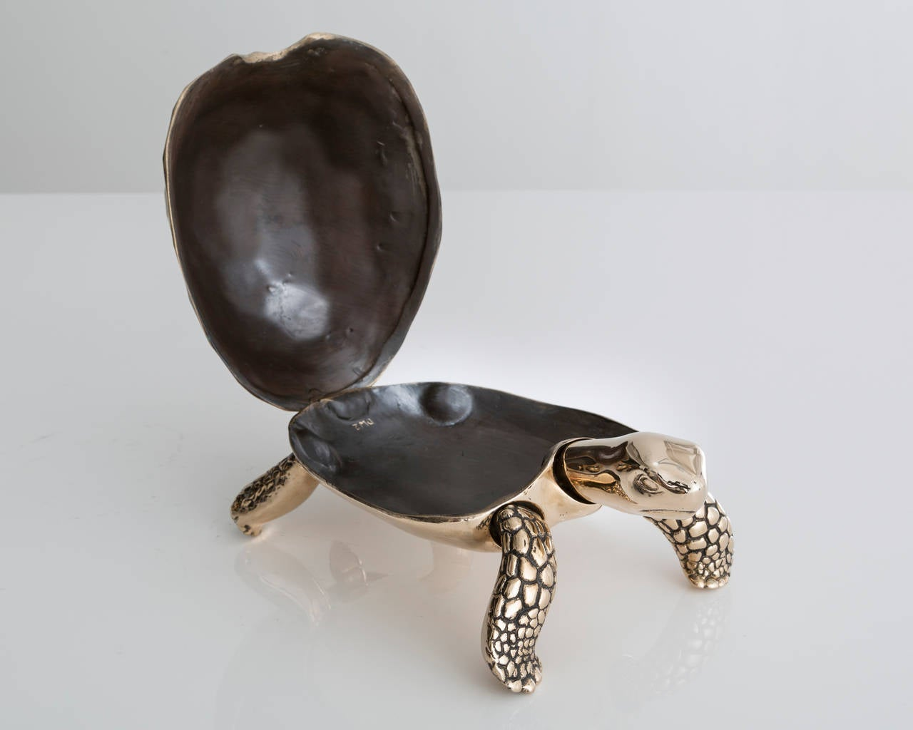 Unique Bronze Turtle Box by David Wiseman, 2014 In Excellent Condition In New York, NY