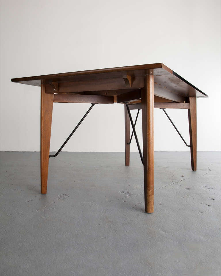 Dining Table by Greta Magnusson Grossman for Glenn California, 1952 In Excellent Condition For Sale In New York, NY