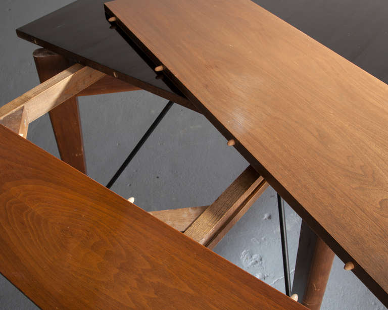 Formica Dining Table by Greta Magnusson Grossman for Glenn California, 1952 For Sale