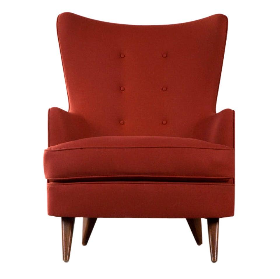 Lounge Chair by Joaquim Tenreiro, Brazil, 1950