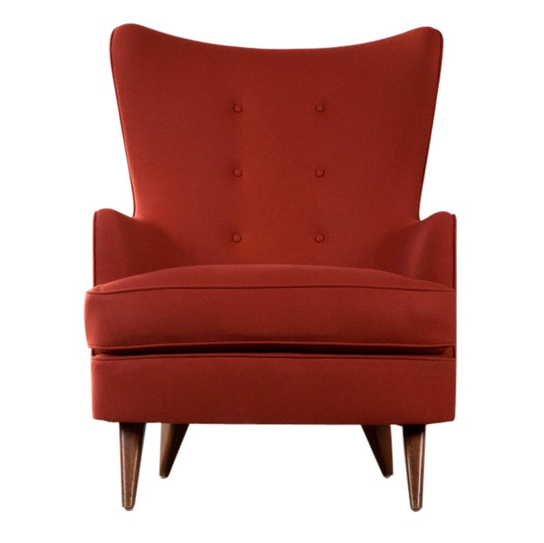 Lounge Chair by Joaquim Tenreiro, Brazil, 1950 For Sale
