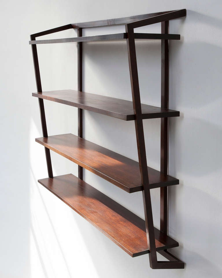 wall shelving units wall mounted shelving unit in jacaranda by joaquim 28105