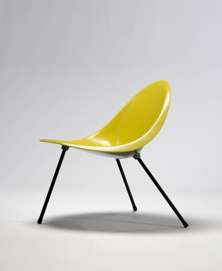 Tripod Chair Designed by Poul Kjaerholm, Denmark, 1953 For Sale 2