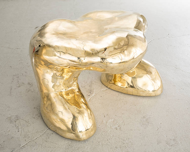 Fanny Devito Hex Stool By The Haas Brothers At 1stdibs