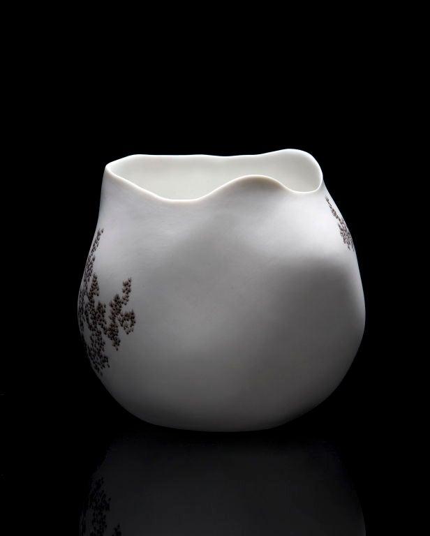 American Unique Rock Vase by David Wiseman