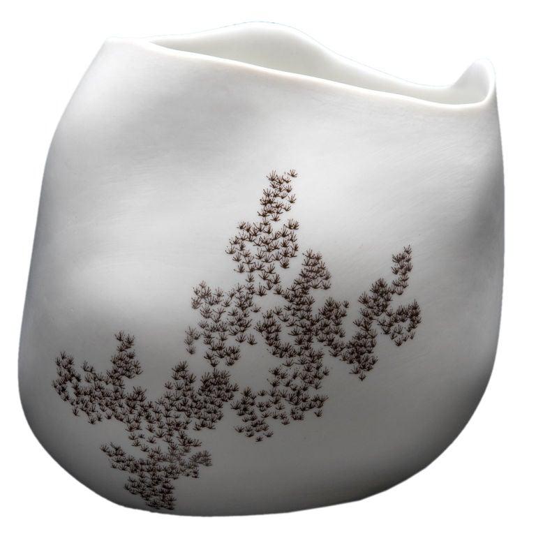 Unique Rock Vase by David Wiseman